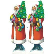 Vintage Large Santa Scraps ~ Vintage MLP ~ England