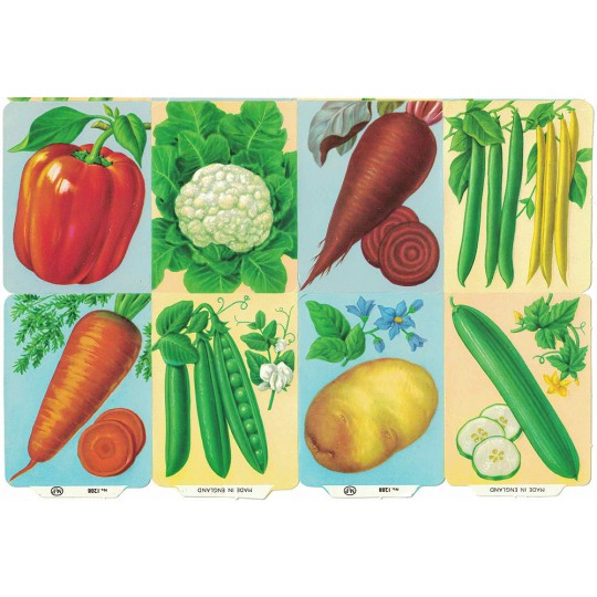 Mixed Vegetables ~ Vintage MLP ~ England ~ Out of Print