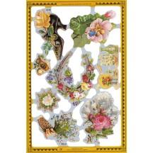 Vintage Ephemera & Florals Scraps ~ England