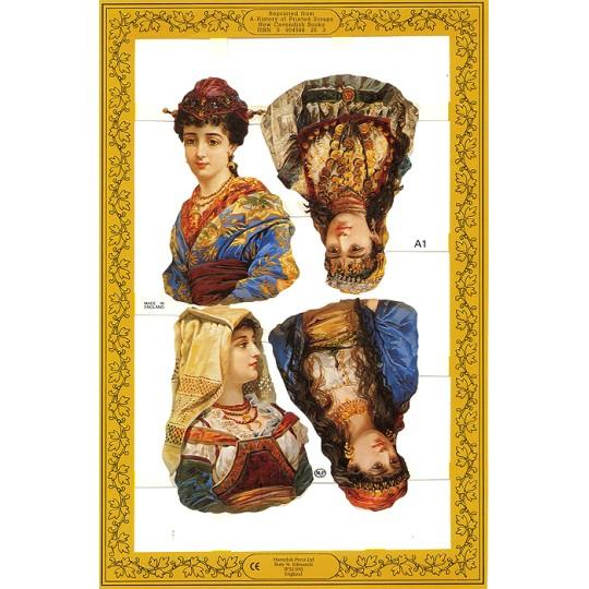 Assorted Victorian Women Scraps ~ England
