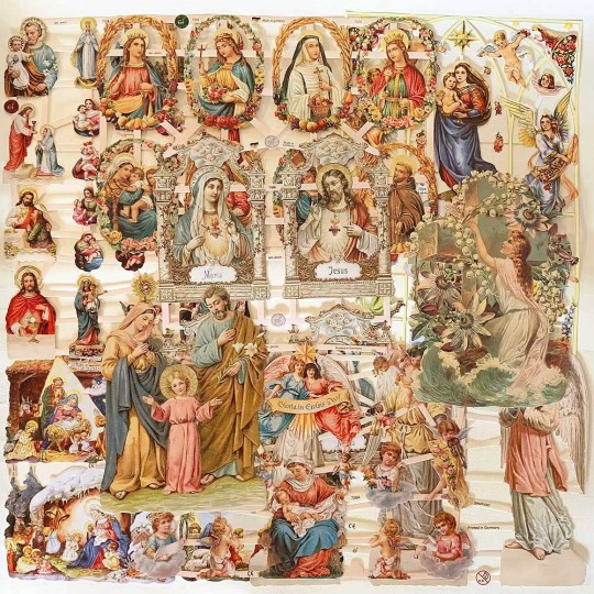 Mixed Religious Master Scrap Pack ~ 9 Assorted Sheets