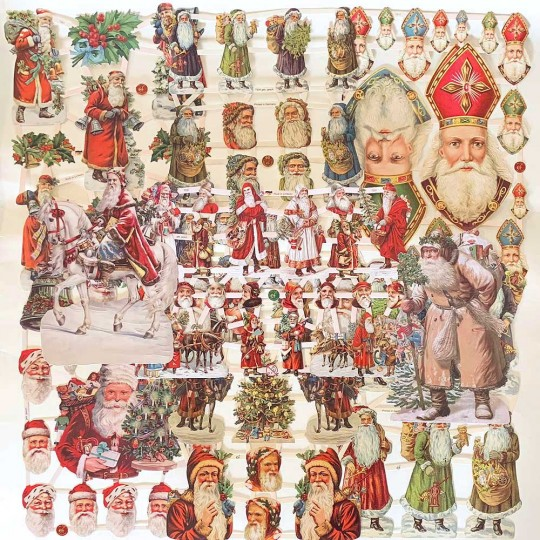 Mixed St. Nicholas Master Scrap Pack ~ 9 Assorted Sheets