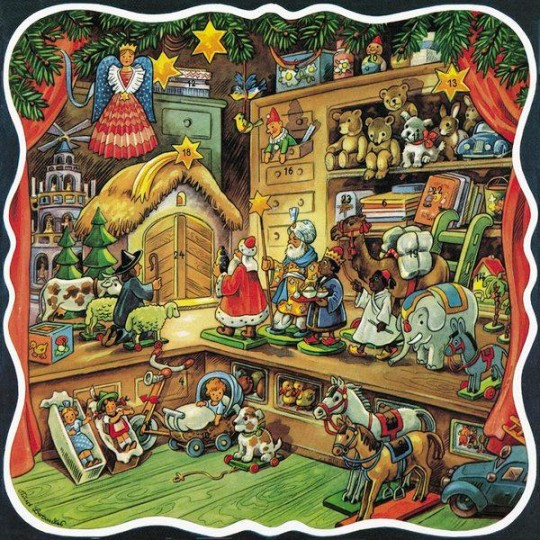 Toys Delivering Gifts Advent Calendar ~ Germany