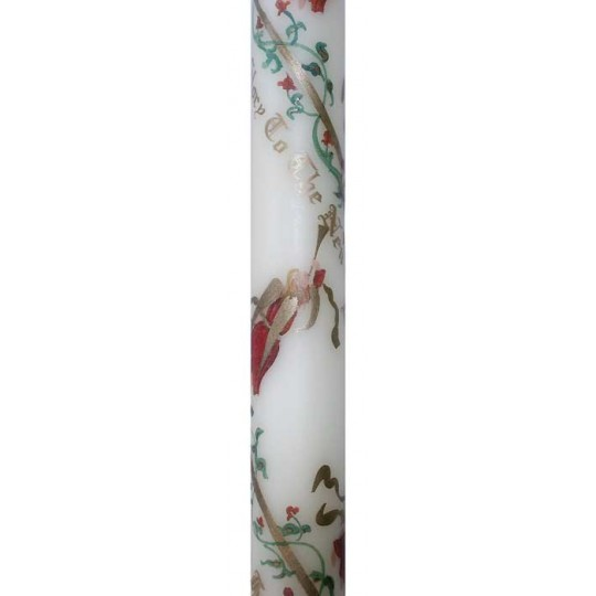 1 Musical Angels Advent Candle -- Handmade in England
