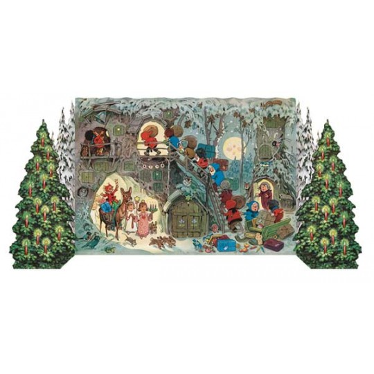 Gnome's Christmas Standing Advent Calendar