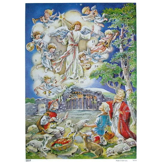 Glorious Angels Paper Advent Calendar