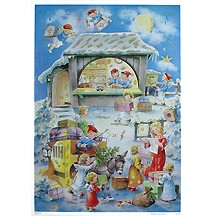 Angels Post Office Paper Advent Calendar ~ Germany