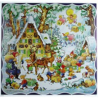 Loading the Sleigh Paper Advent Calendar ~ Germany