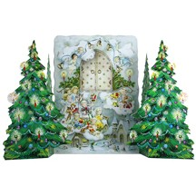 An Angel Visit Standing Advent Calendar