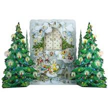 An Angel Visit Standing Advent Calendar