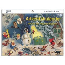 "Advent Nostalgia Advent Calendar Booklet ~ Germany ~ 7-1/2"" x 5-1/4"""
