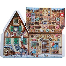 Fairytale Gingerbread House 3D Advent Calendar