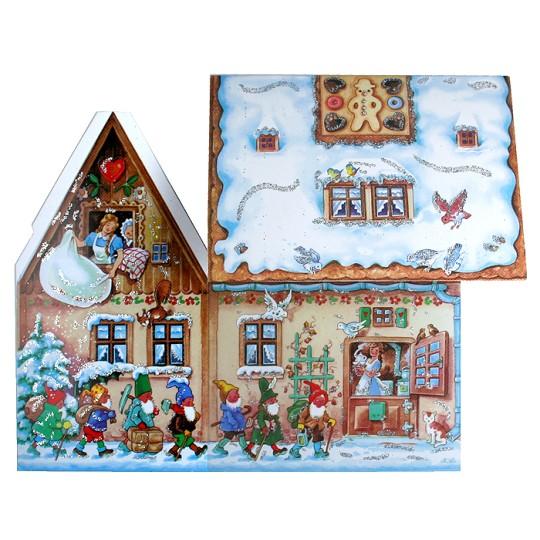 Fairytale Gingerbread House 3D Advent Calendar