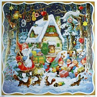 Checking the List Square Advent Calendar ~ Germany
