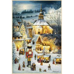 Advent Calendars Featuring German Landmarks