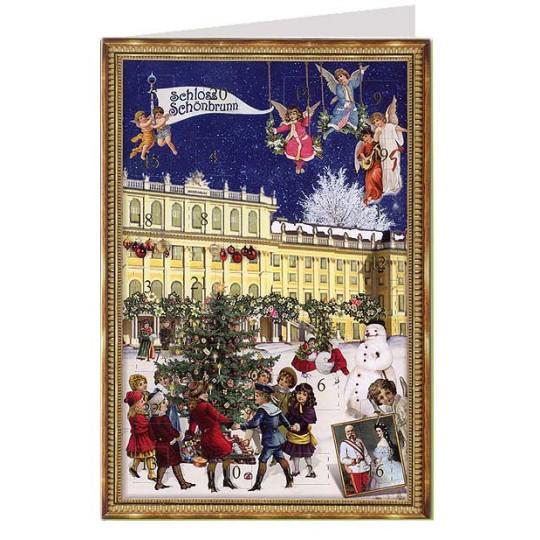 Vienna Schloss Schonbrunn Advent Calendar Card ~ Germany