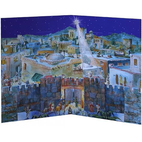 Gates of Bethlehem Standing Advent Calendar