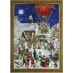 Victorian Style Advent Calendars