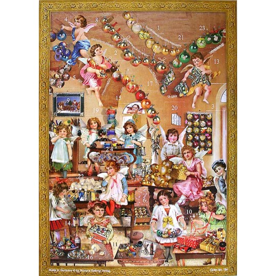 Angels Workshop Victorian Advent Calendar ~  New for 2012