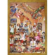 Angels Workshop Victorian Advent Calendar