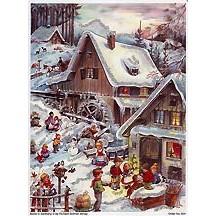 Snowy Mill German Advent Calendar