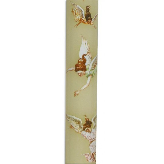 1 Nativity Advent Candle with Angels