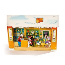Mickey Mouse and Friends Store 3-D Advent Calendar from Denmark