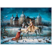 "Christmas in Moritzburg Advent Calendar ~ 16-1/2"" x 11-1/2"""