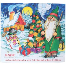 Snowy Gnome Advent Calendar Filled with 24 Incense Cones in Mixed Scents ~ Germany