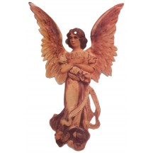 Victorian Angel Double-sided Paper Christmas Ornament ~ Old Store Stock USA