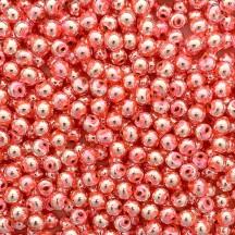 30 Light Pink Round Glass Beads 8 mm ~ Czech Republic