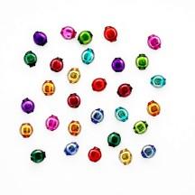 30 Mixed Color 6 mm Lentil Beads ~ Czech Republic