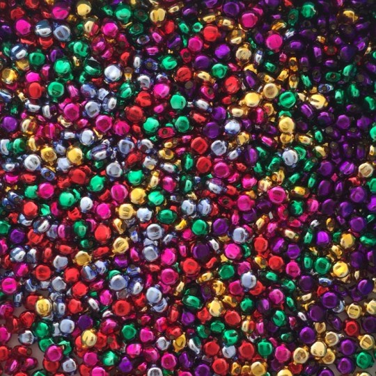 30 Mixed Color 6 mm Lentil Beads ~ Czech Republic