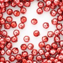 15 Pink Round Glass Beads 10 mm ~ Czech Republic