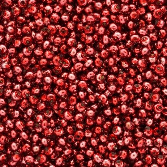 30 Pink Round Glass Beads 6 mm ~ Czech Republic