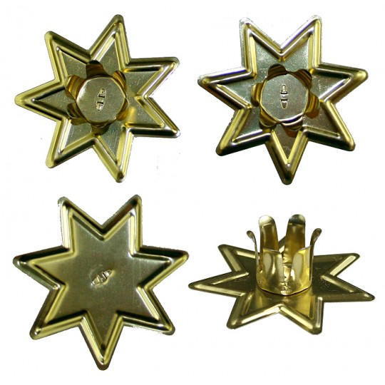 4 Star Tabletop Candle Holders ~ Made in Germany
