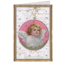 Christmas Angel Advent Calendar Card ~ Germany