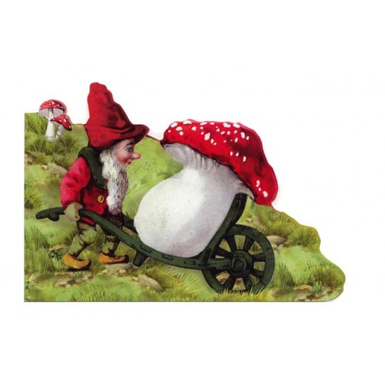 Die Cut Gnome & Mushroom Card ~ Germany