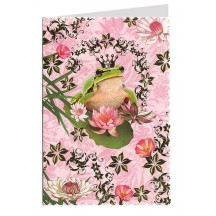 The Frog Prince Gold Foil Stamped Card ~ Germany