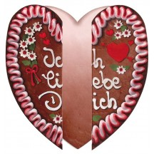 Folding German Cookie Valentine Card ~ Germany