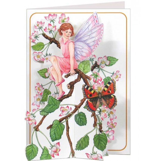 3-D Fairy and Butterfly Card ~ England