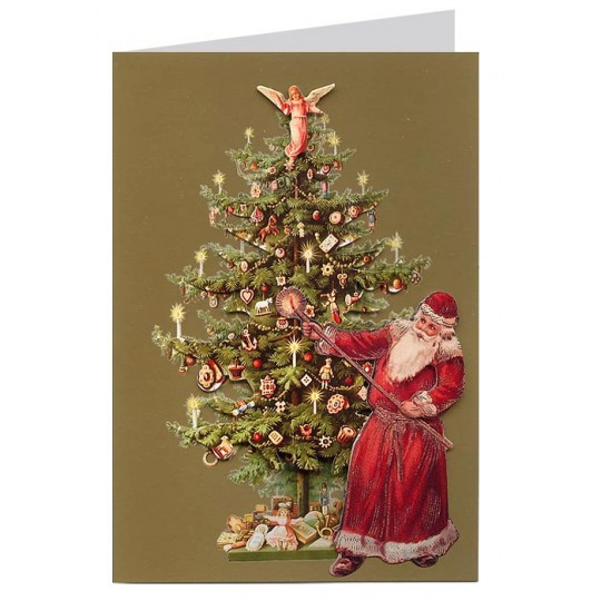 Christmas Decorations In Victorian England: Christmas Cards From England