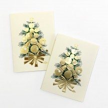 Petite Bell Tree Gift Cards ~ Set of 2 ~ Rossi Italy
