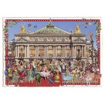 Beautiful L'Opera Paris Large Postcard ~ Germany