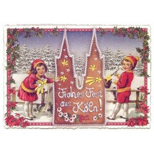 Koln Christmas Lebkuchen Large Postcard ~ Germany
