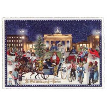 A Victorian Berlin Christmas Large Postcard ~ Germany