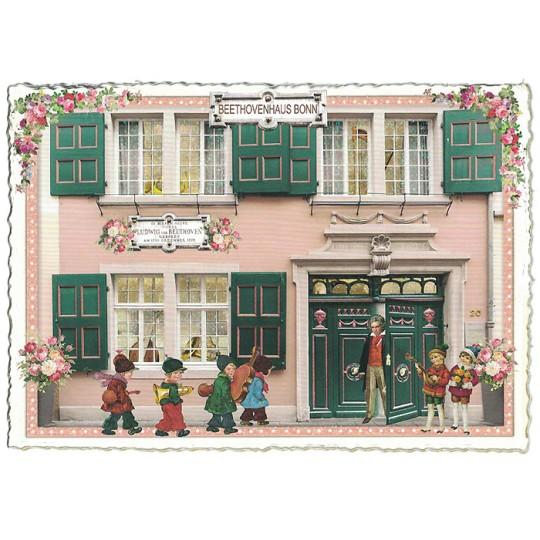 Beethoven House Bonn Postcard ~ Germany