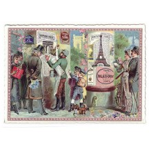 Paris Victorian Posters Large Postcard ~ Germany