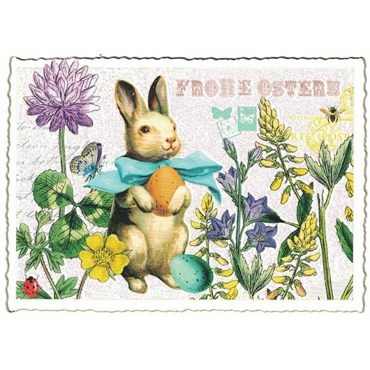 Cutest Easter Bunny Postcard ~ Germany