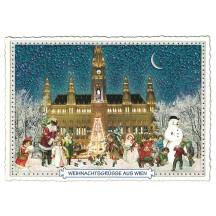 Vienna Christmas Postcard ~ Germany